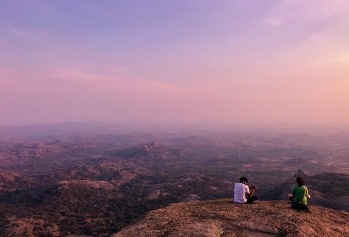 Savandurga – One of the largest Monolith hills inAsia
